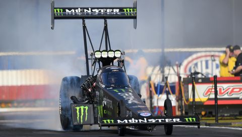 Brittany Force was a winner NHRA