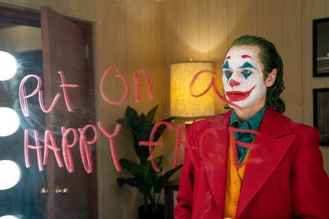 Joaquin Phoenix als Arthur Fleck / Joker in de Warner Bros film:Joker (2019)