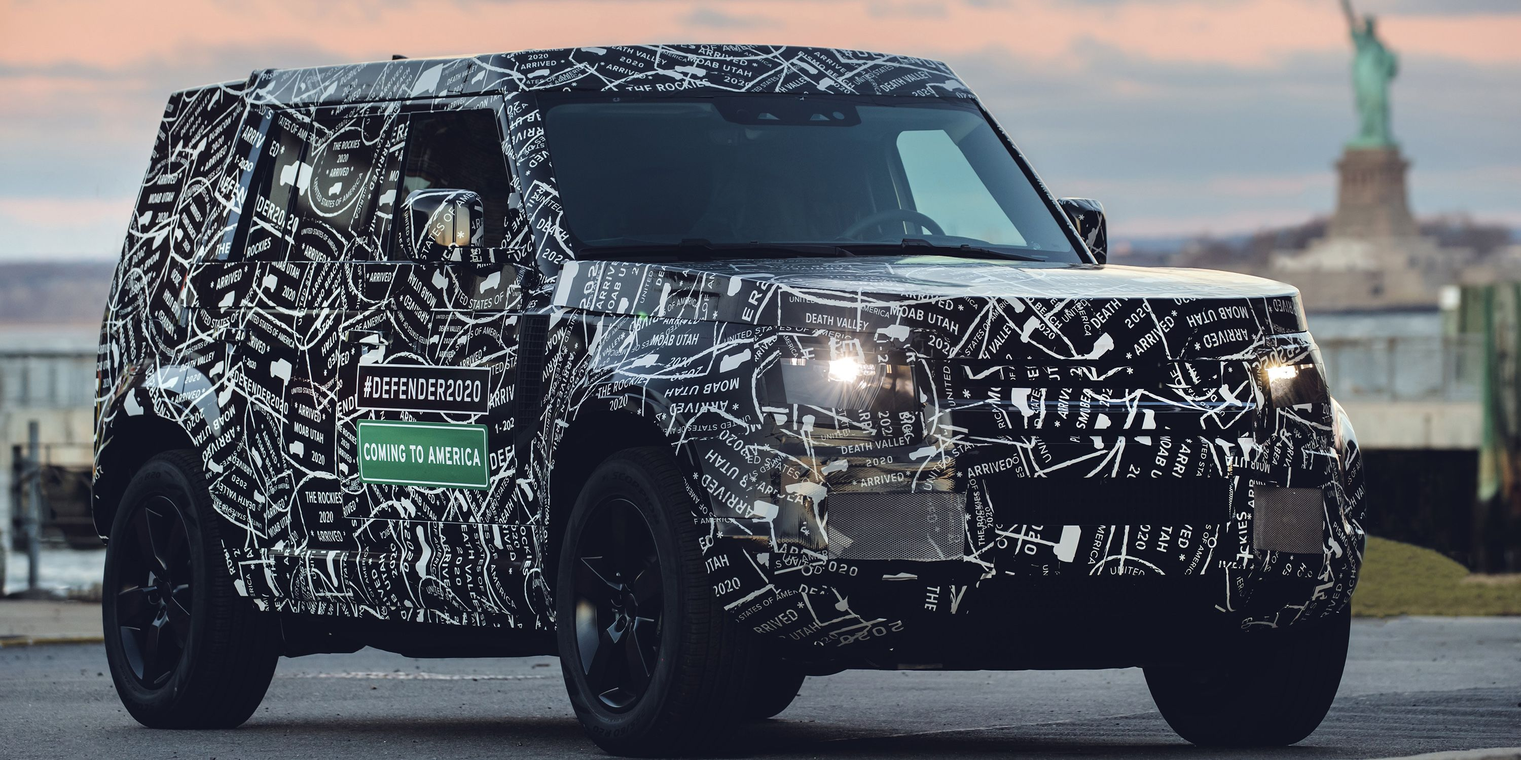 the new land rover defender will debut in 2019, will be sold in the us