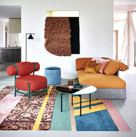 How To Create A Vibrant Bold Living Room With Pattern And Colour