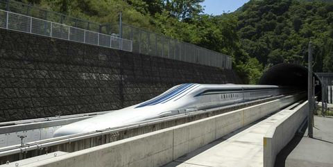 Japan's 375-MPH Levitating Train Is a Commuter's Dream Come True