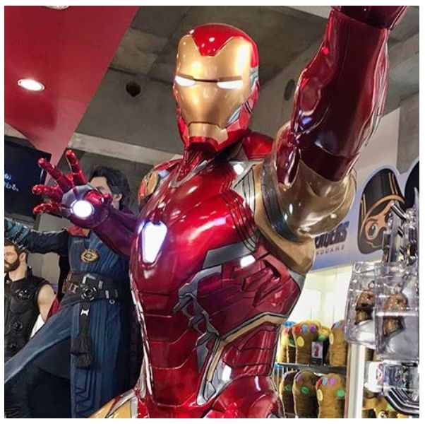 Iron man, Superhero, Fictional character, Food, Cuisine, Dish, Junk food, Dessert, Finger food, Breakfast,