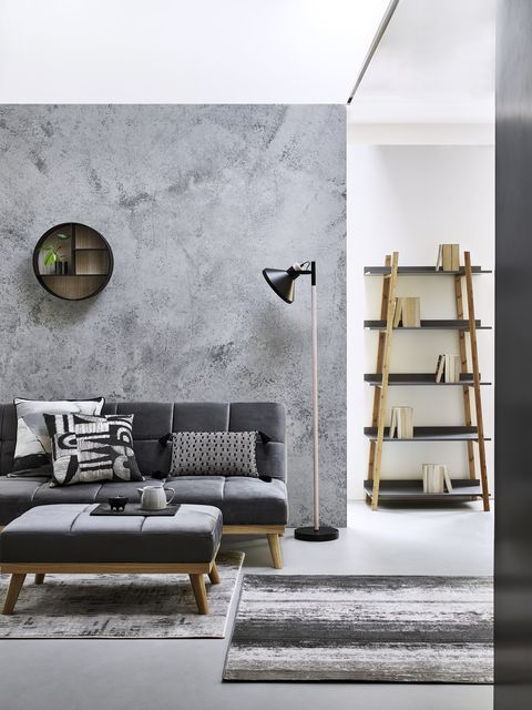19 Grey Living Room Ideas, Living Room Paint Ideas With Grey Furniture