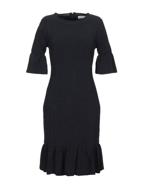 Clothing, Black, Dress, Sleeve, Day dress, Cocktail dress, Little black dress, Sheath dress, Outerwear, T-shirt,