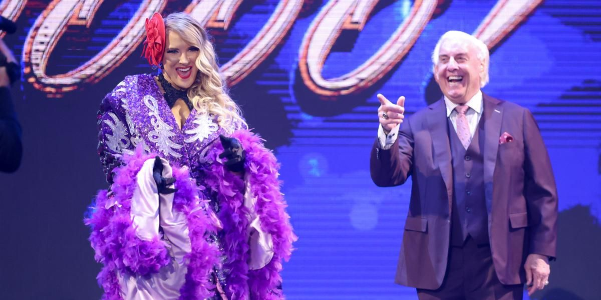 """Ric Flair admits he didn't feel """"comfortable"""" with controversial Lacey Evans WWE storyline"""