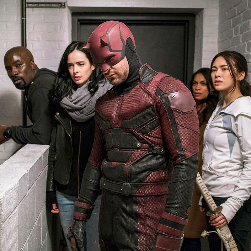 Indiana Marvel limited series The Defenders tops the list in Indiana.
