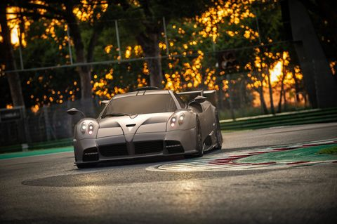 Pagani Imola limited-edition track-focused hypercar