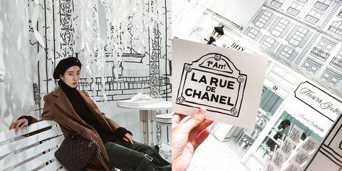 sale retailer 3cb2d d4ba8 香奈兒把巴黎街頭搬到台北!開LA RUE DE CHANEL限定店不只好逛更 ...