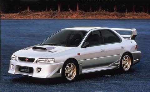 Subaru Impreza STI S201