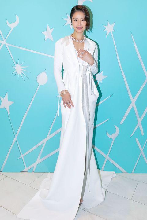活動嘉賓林心如優雅詮釋tiffany  co 2020 jean schlumberger 傳奇設計高級珠寶系列,公關形象照和活動照。