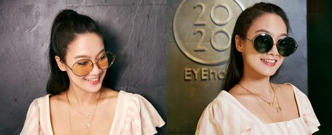 Eyewear, Hair, Face, Glasses, Sunglasses, Skin, Lip, Eyebrow, Cool, Hairstyle,