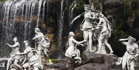 Sculpture, Statue, Art, Mythology, Stone carving, Classical sculpture, Tree, Monument, History, Relief,