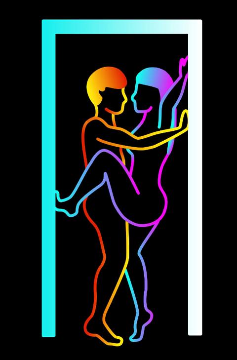 Graphic design, Illustration, Art, Visual arts, Neon, Silhouette, Graphics,