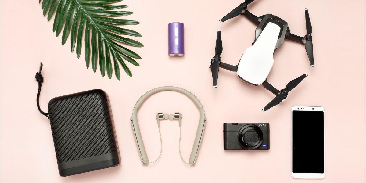 旅行,相機,耳機,真空壓縮機,空拍機,喇叭,推薦