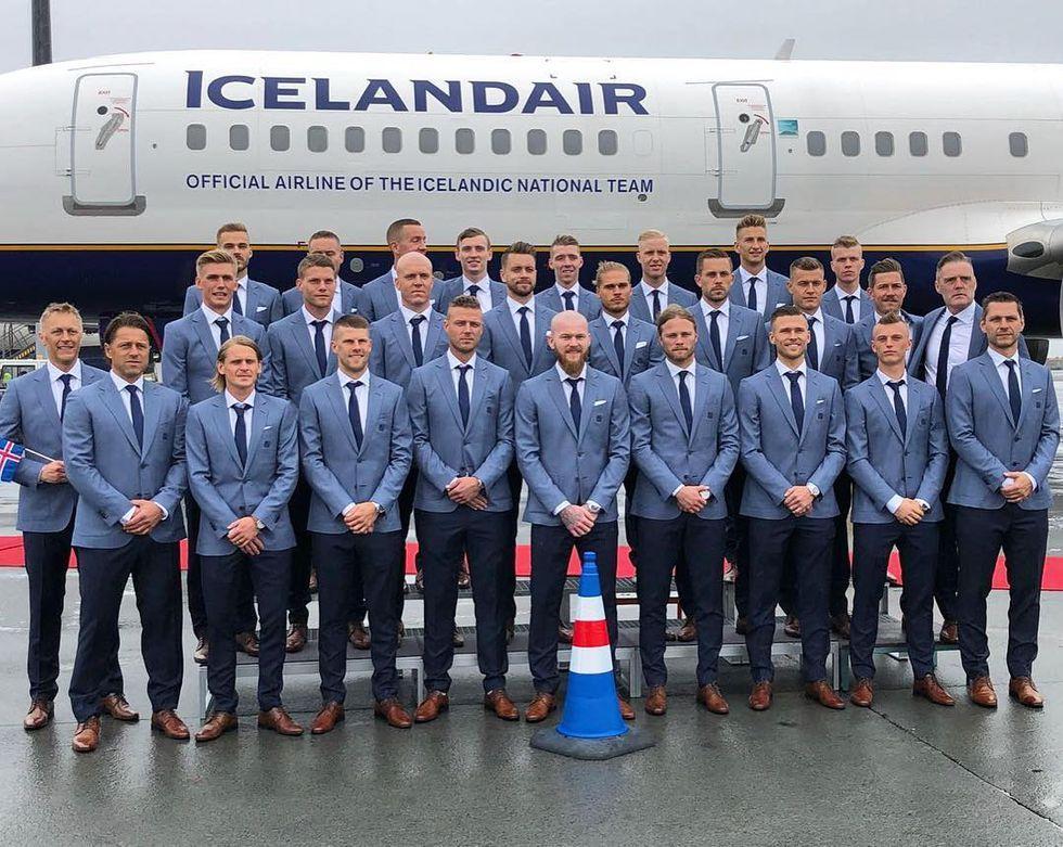 2018世足,冰島隊,維京怒吼,慶祝方式,釣魚,牙醫,工人,導演