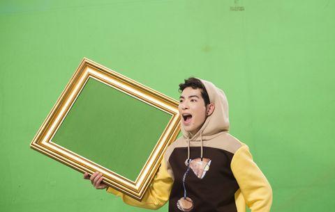 Green, Blackboard, Yellow, Room, Fun, Photography,