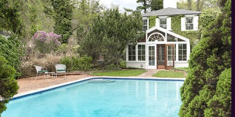 Property, Swimming pool, Home, House, Backyard, Real estate, Estate, Building, Residential area, Yard,