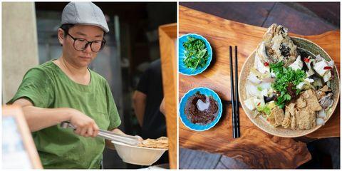 談到街頭食物,台灣美食當然不能缺席,這次NETFLIX 製作團隊特別來到嘉義,介紹知名風味小吃林聰明的「沙鍋魚頭」,「沙鍋魚頭」以裹上麵粉的魚頭油炸過之後,撈起再跟白菜、黑木耳、豆腐、豆皮一起烹煮,搭配嘉義雞肉飯堪稱一絕,傳承60年的美味歷史,早已是相當知名的排隊名店!