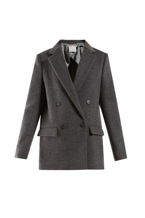 Clothing, Outerwear, Suit, Blazer, Jacket, Formal wear, Coat, Brown, Sleeve, Tuxedo,