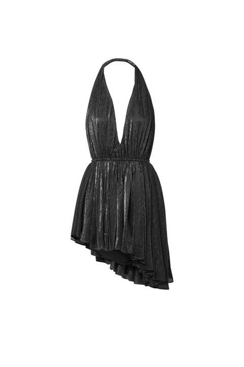 Clothing, Black, Dress, Little black dress, Cocktail dress, Outerwear, Sleeve, Day dress, Neck,