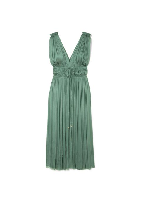 Clothing, Day dress, Dress, Green, Cocktail dress, Aqua, Turquoise, One-piece garment, Neck, Formal wear,