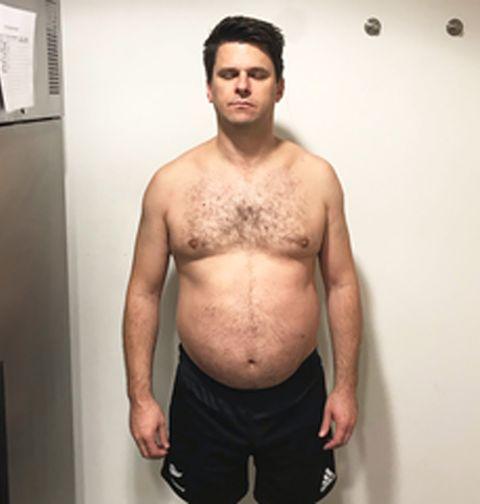 人気ダイエットとトレーニングを組み合わせ、6カ月で見事な身体に