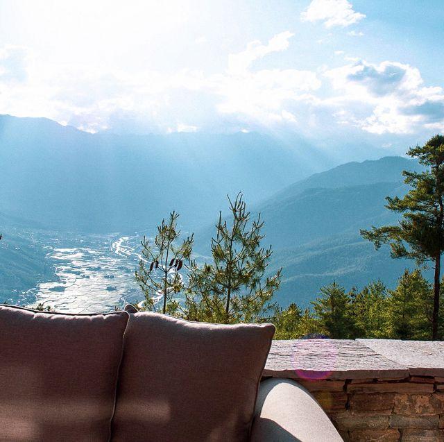 Sky, Nature, Mountain, Mountainous landforms, Tree, Wilderness, Mountain range, Hill station, Cloud, Alps,