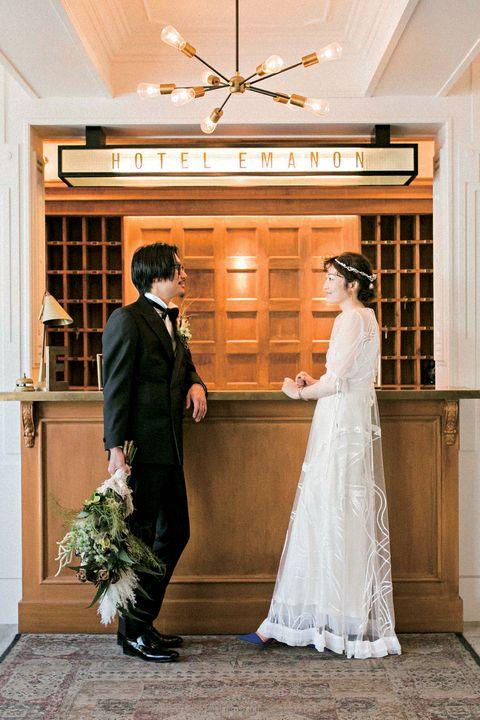Photograph, Bride, Wedding dress, Ceremony, Gown, Wedding, Dress, Veil, Bridal clothing, Formal wear,