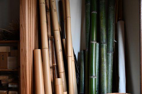 京都の竹工芸の特徴は?