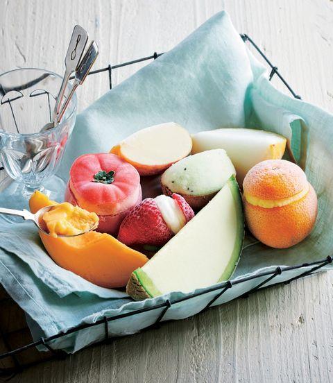 ジェラートマリノのひんやりデザート「フルーツ&ベジシャーベット」