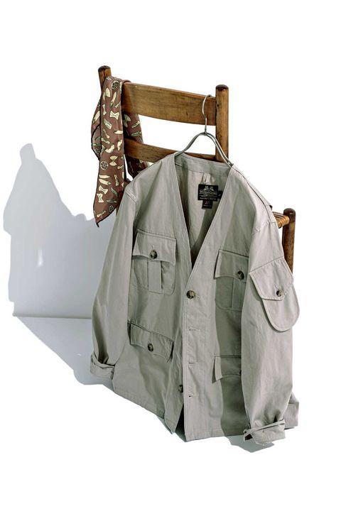 アウター,ジャケット, サファリジャケット, トラッド, トラッドアイテム, ファッション,メンズファッション, mensfashion