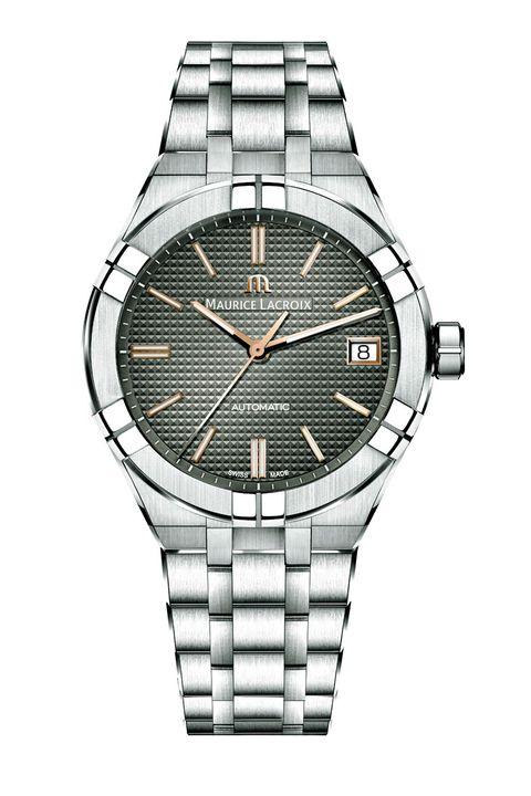 時計トレンド, グレーダイヤル , モーリス・ラクロア, ボーム&メルシエ, 時計, アクセサリー, ファッション