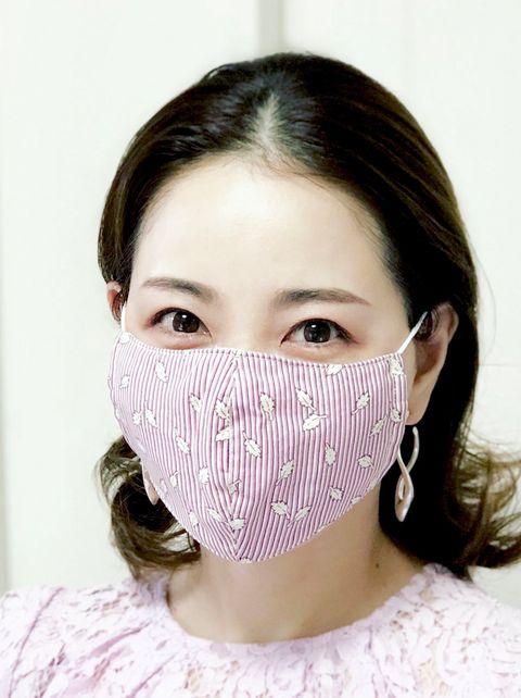 西村直子、マスク、たるみ