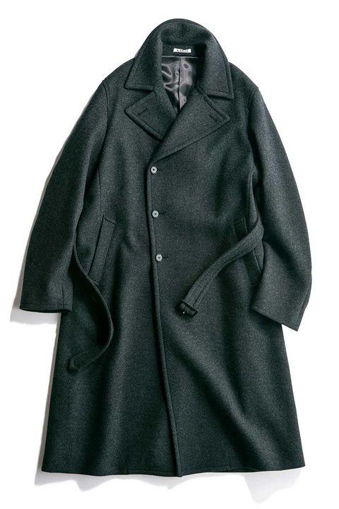 ベルテッドコート, ルーズフィットコート, コート, ダンディ,スタイル, 好印象, メンクラ, ファッション
