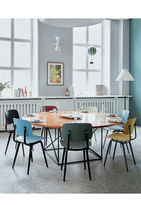 Room, Furniture, Table, Interior design, Floor, Chair, Glass, Grey, Teal, Turquoise,