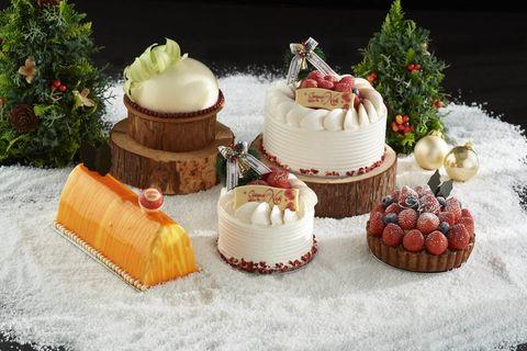 人気ホテルのクリスマスケーキ