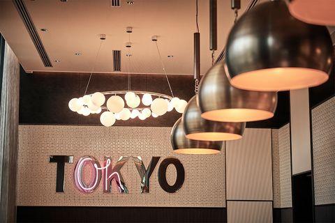 『キンプトン新宿東京』の内観