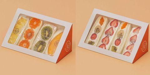 季節のフルーツサンド(4個セット)