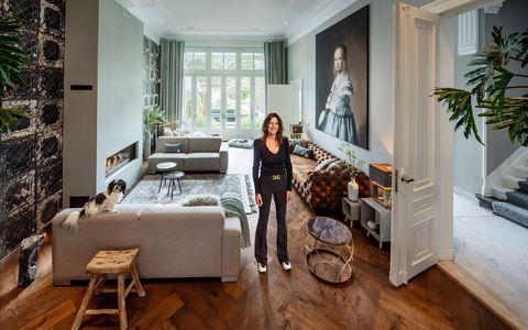 jacqueline schoenmakers in haar €6,5 miljoen kostende huis in den bosch