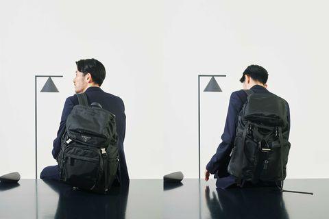 黒バッグ, バックパック, キャリーオール, トートバッグ, タンカー, バッグ, アイテム, ファッション, メンクラ