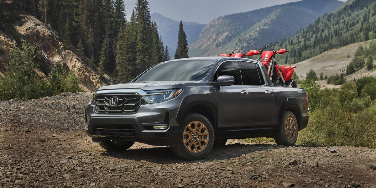 2021 Honda Ridgeline Gets a Redone Front End and the Same ...