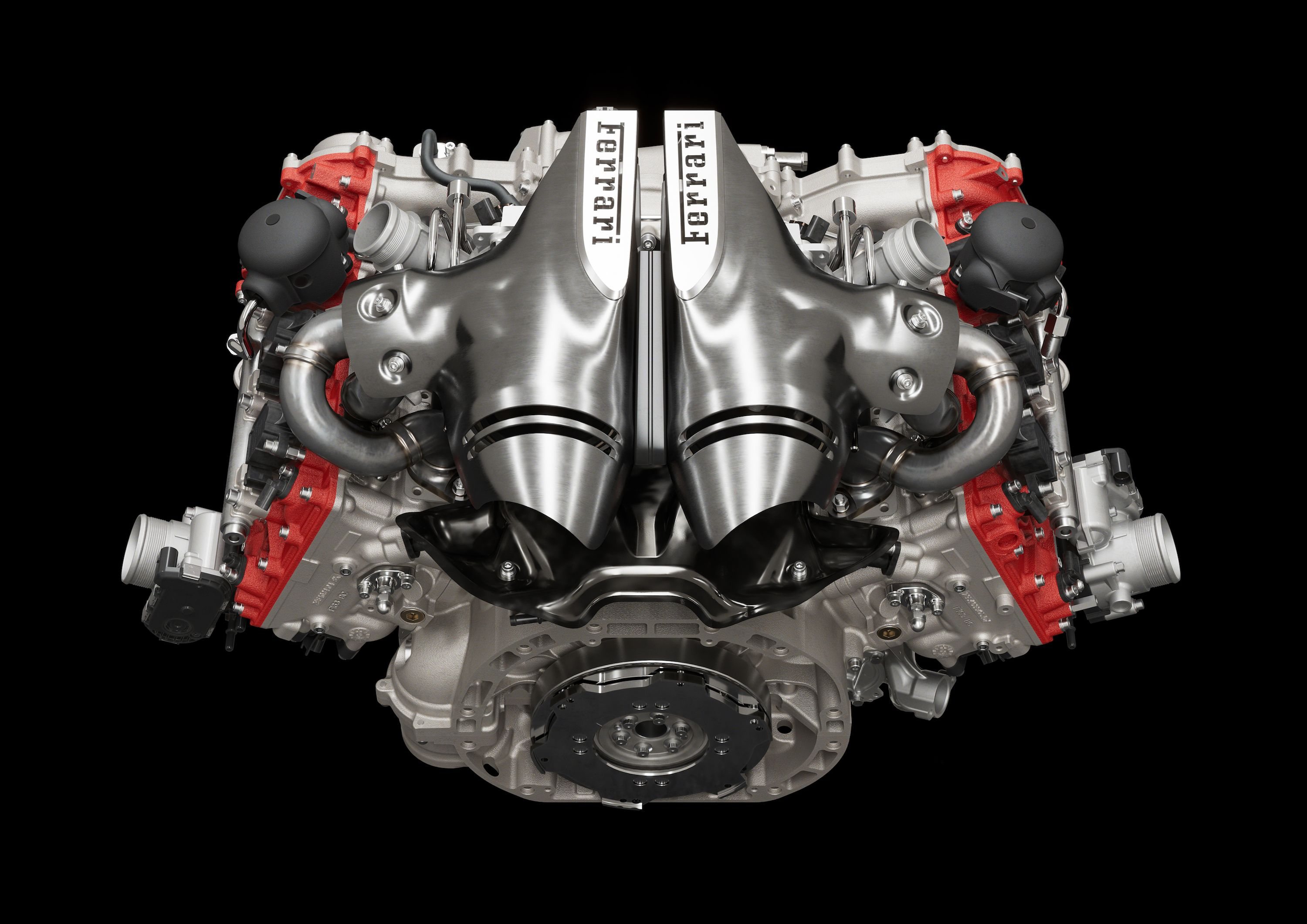 Everything You Need to Know About Ferrari's Wild 120-Degree Twin-Turbo V-6