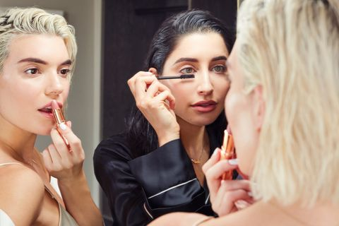 Hair, Skin, Beauty, Lip, Blond, Eyelash, Nail, Photography, Gesture, Model,