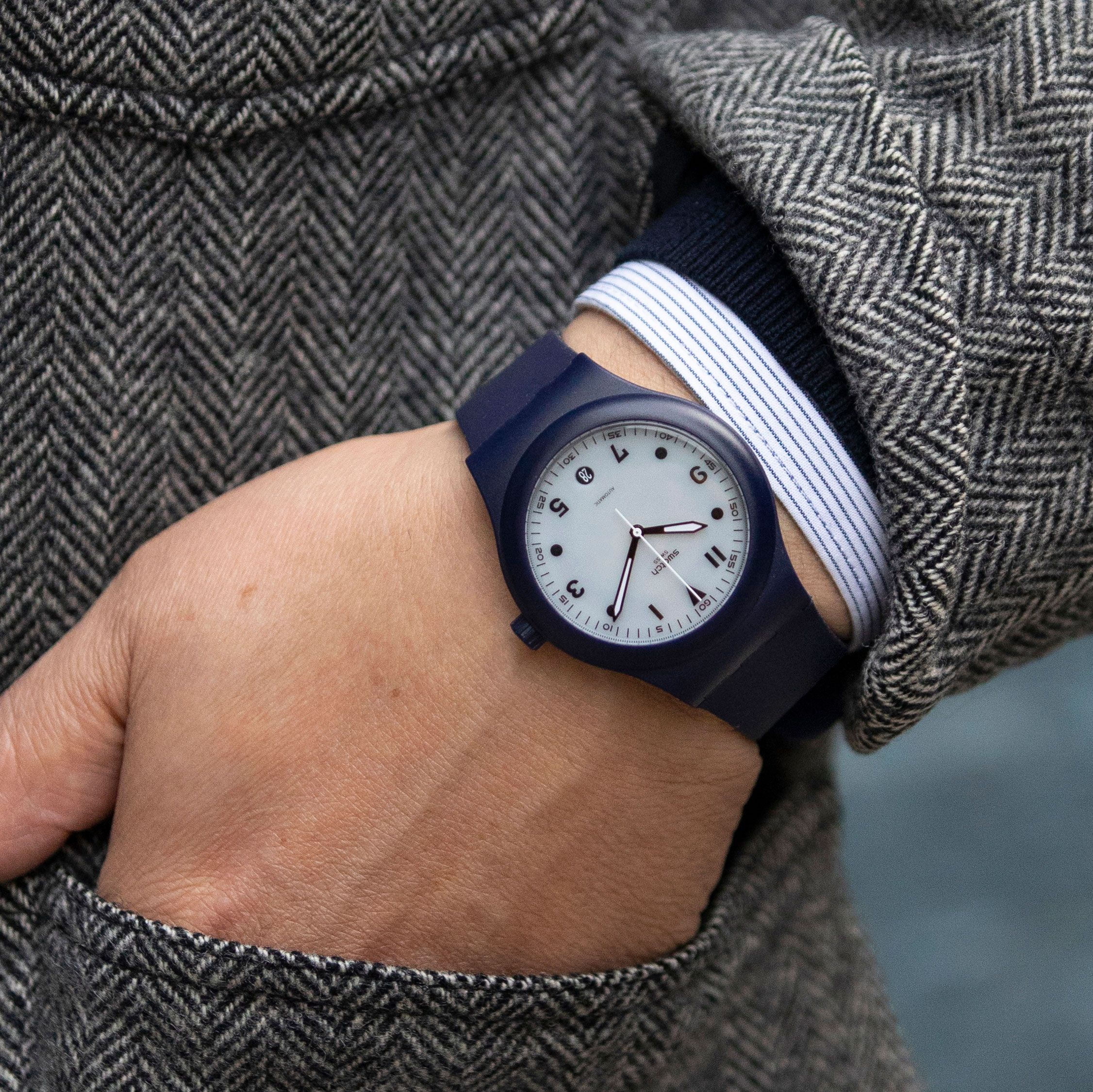 Swatch and Hodinkee's Latest Timepiece Packs a Lot of Style Into an Affordable Package