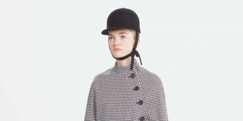 Clothing, Dress shirt, Collar, Sleeve, Shirt, Cap, Textile, Pattern, Standing, Style,
