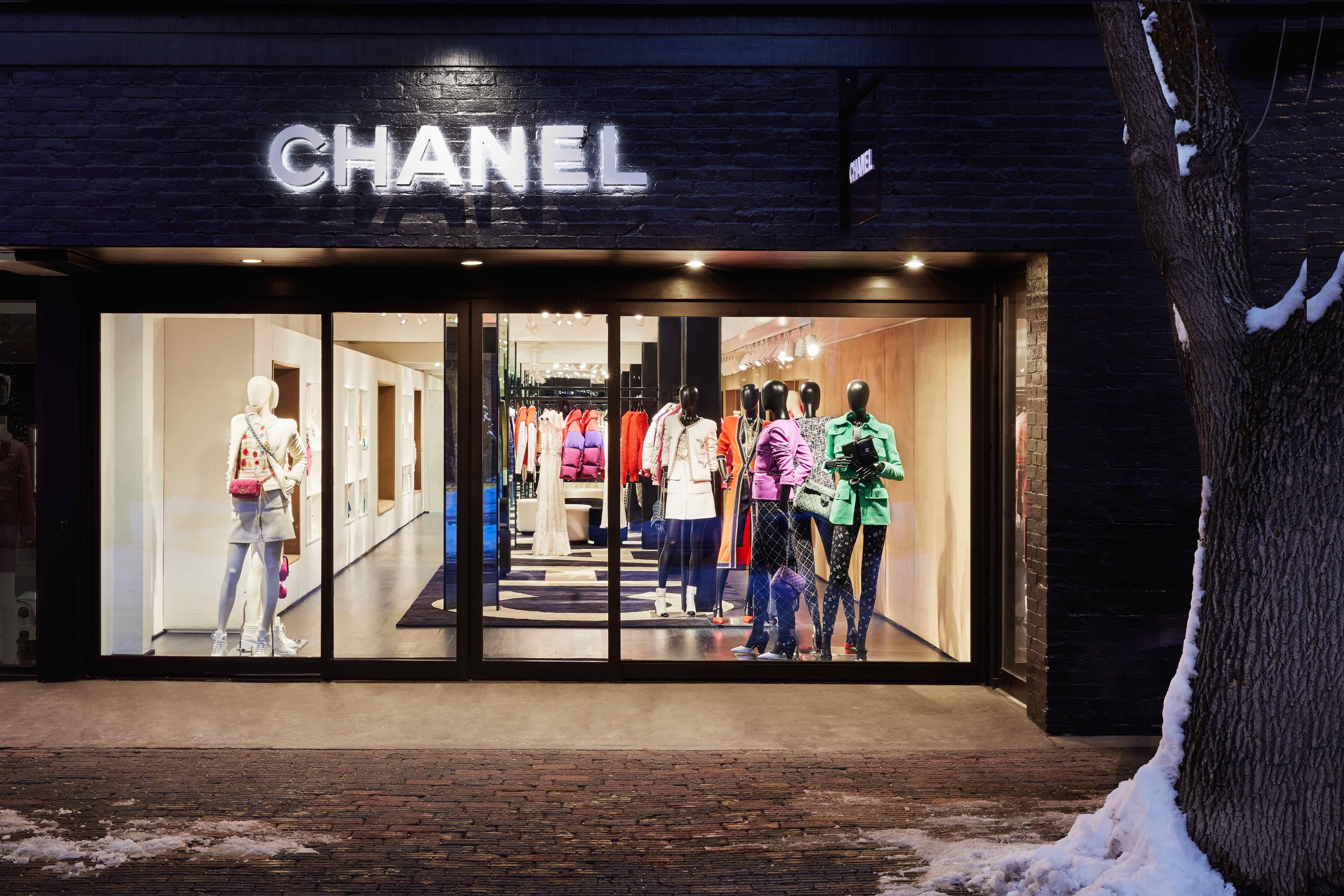 Chanel Opens Mountainside Ephemeral Boutique in Aspen