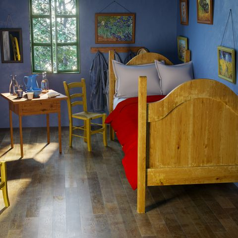 Van Gogh\'s \'The Bedroom\' Painting Reimagined In Real Life