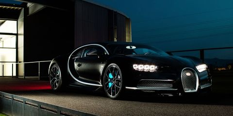 The Bugatti Chiron Sends A Text To A Factory Mechanic Whenever It