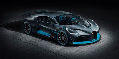 New Bugatti Divo Is A Chiron Designed For Corners