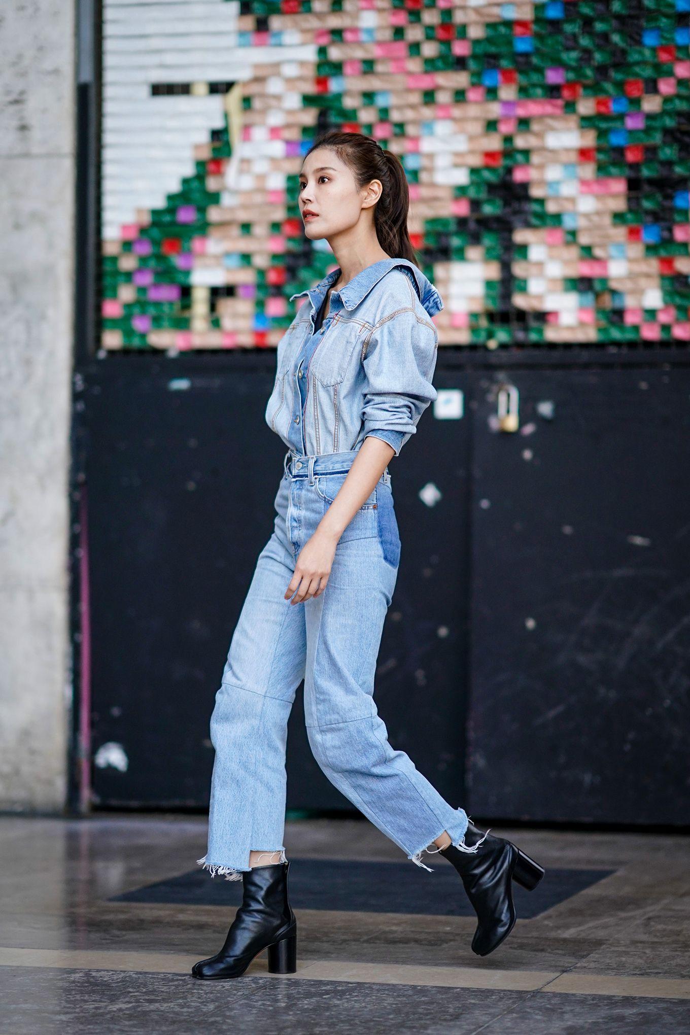 Camicia di jeans come indossarla? 20 outfit moda estate 2018